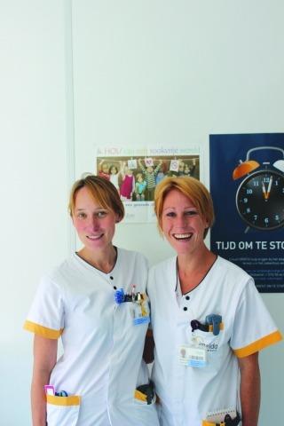 Aline Delbaere en Wendy De Boeck